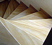 CODE 11: Staircase from natural stone, wood texture