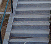 CODE 5: Staircase from natural gray - black Karystou stone