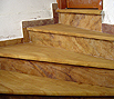 CODE 12: Staircase from natural stone, wooden look
