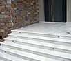 CODE 21: Staircase from white marble