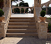 CODE 20: Marble staircase construction with stone built entrance