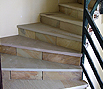 CODE 16: Stairs from natural stone, mint nature, India