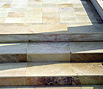 CODE 18: Stairs from natural stone, 30 x 60 and 40 x 60 cm, mint nature, India