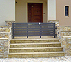CODE 17: Exterior stairs, with Californian marble, Vyzantine type, with Peania stone